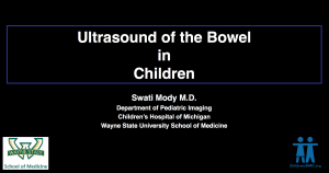 ultrasound of the bowl in children